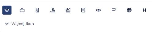 icone per il tuo curriculum